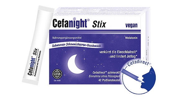 Neu aus der Cefadirect-Serie: Cefanight Stix